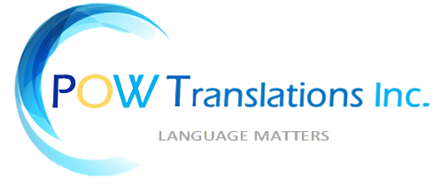 POW Translations Inc. Logo